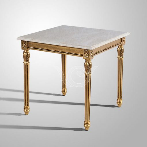 Hannah Side Table Marble Top