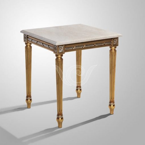 Kasha Side Table Marble Top