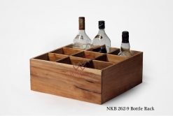 Wooden Bottle Rack