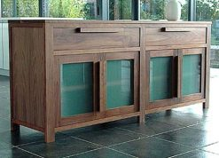 Toppe Glass Sideboard