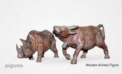 Animal Wooden Figure