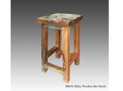 Miley Wooden Bar Stool