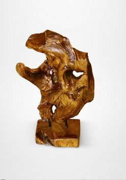 Mahesa Wooden Stand Decor