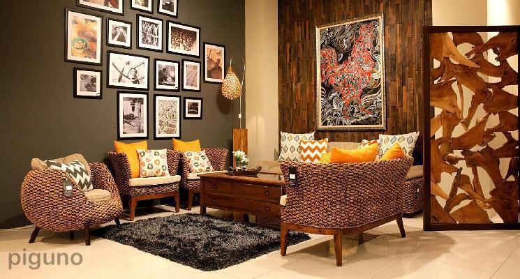 Indonesia rattan furniture, Solo Natural rattan furniture